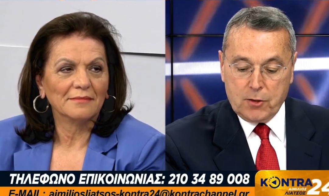 """Η Αυγή Μπέσκα – Θεοδόση υποψήφια δήμαρχος Αθήνας με το """"Μέτωπο Ανατροπής για την Αθήνα"""", καλεσμένη του Αιμίλιου Λιάτσου στο Kontra Channel μιλάει για τους αγώνες της, στα κινήματα, την αριστερά και την αυτοδιοίκηση."""