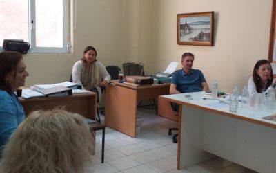 Επίσκεψη της Αυγής Θεοδόση στο Σύλλογο Μηχανικών Δήμου Αθηναίων