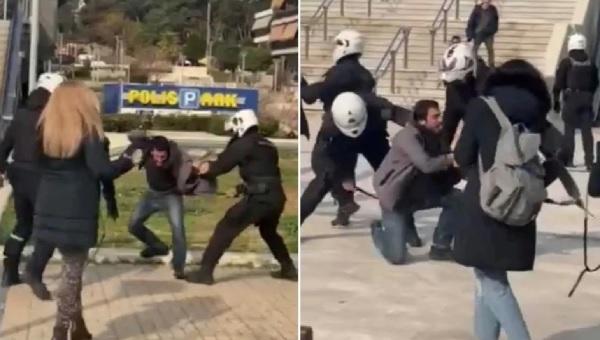 Ανακοίνωση – Η Πανδημία δεν αντιμετωπίζεται με Αστυνομική βία