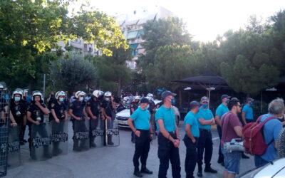 Το Μέτωπο Ανατροπής για την Αθήνα καταδικάζει την βία και την τρομοκρατία της Δημοτικής Αρχής
